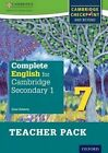 Complete English for Cambridge Secondary 1: For Cambridge Checkpoint and Beyond: Teacher Pack 7 by Nick Coates, Dean Roberts (Mixed media product, 2016)