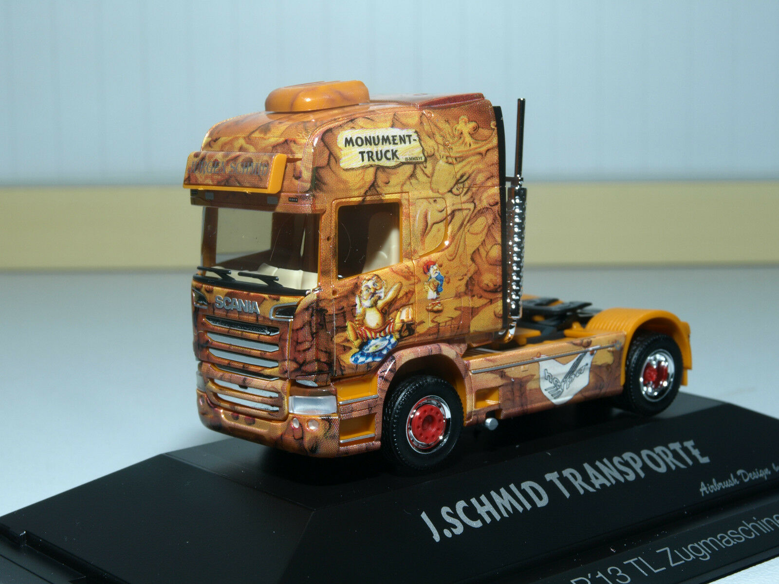 HERPA scania r tracteur Herpa Monument camion dans pc 110822