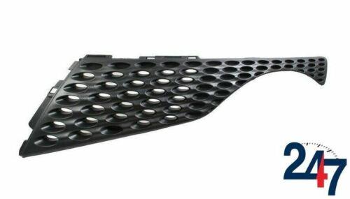 Pare choc avant grill supérieur en plastique noir gauche compatible avec Nissan Juke 10-14
