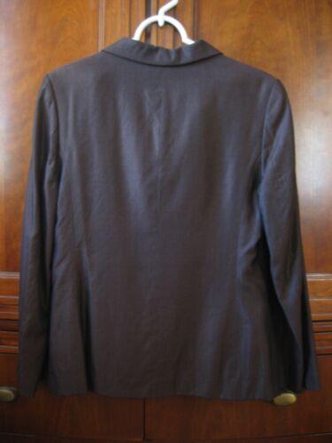 da e gonna marrone Completo scuro lana media taglia donna seta di 1EWnda
