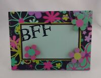 Magnetic Frame Picture Flower Power Magnets Bff Metal 5 By 7 Inch Wall Hook