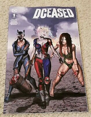 DCEASED #1 VARIANT MAER TRADE HARLEY QUINN BATMAN PRESALE 5//1//19 JOKER