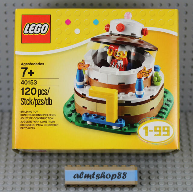 Lego 40153 Birthday Table Decoration Cake Topper Jester Nisb Ebay