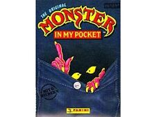 Album Panini MONSTER IN MY POCKET + SET COMPLETO figurine non incollate ITALIANO