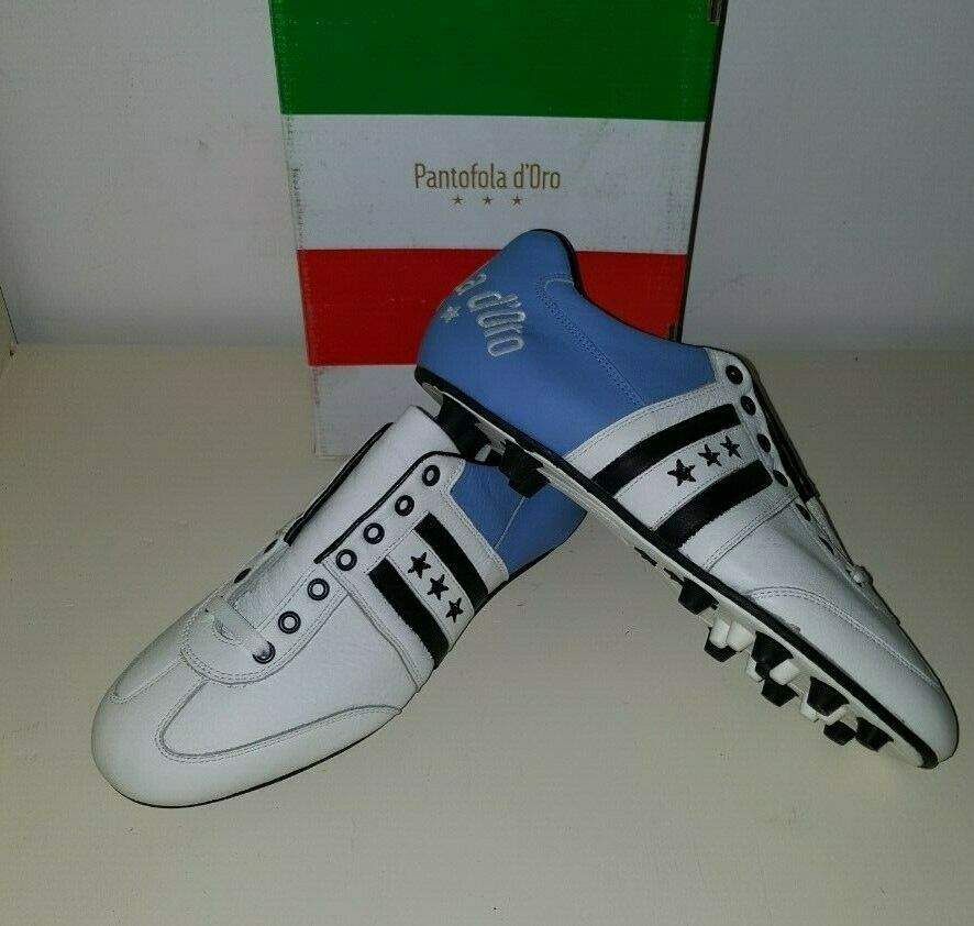 Pantofola d'Gold Piceno Made In  Leather Soccer schuhe Oldschool Stiefel 10.5