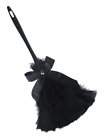 Gothic Black Feather Duster Genuine Smiffys -