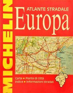 Cartina Stradale Michelin Italia.Atlante Stradale Europa Michelin 1992 Ebay