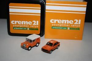 Bub-1-87-06955-Set-Creme-21-youngtimer-rallye-2014-Edition-2014-OVP