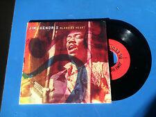 JIMI HENDRIX * BLEEDING HEART & JAM 292 * 45 RPM Mint played once orig shrink