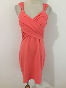 b5f9fb6cae215 Details about Victoria's Secret Bra Tops Sleeveless Dress Coral Size S