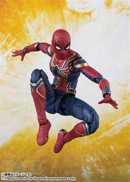 S.H.Figuarts The Avengers 3 Infinite War Iron Spider-Man Action Figure SHF 09998