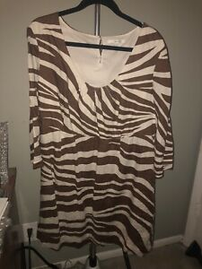 Boden Safari Linen Dress Size 16 Us 20 Uk Euc Knee Length Giraffe Ebay