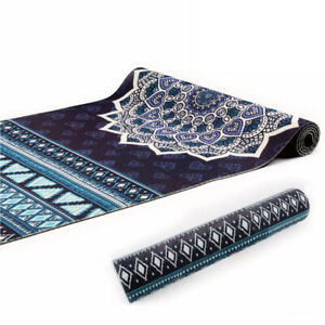 Navy-Aztec-Design-6mm-PVC-Superior-Grip-Sticky-Mandala-Yoga-Mat