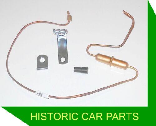 ADVANCE//RETARD PIPE with screw//push end Vapour T Morris Minor 1000 948 1960-62
