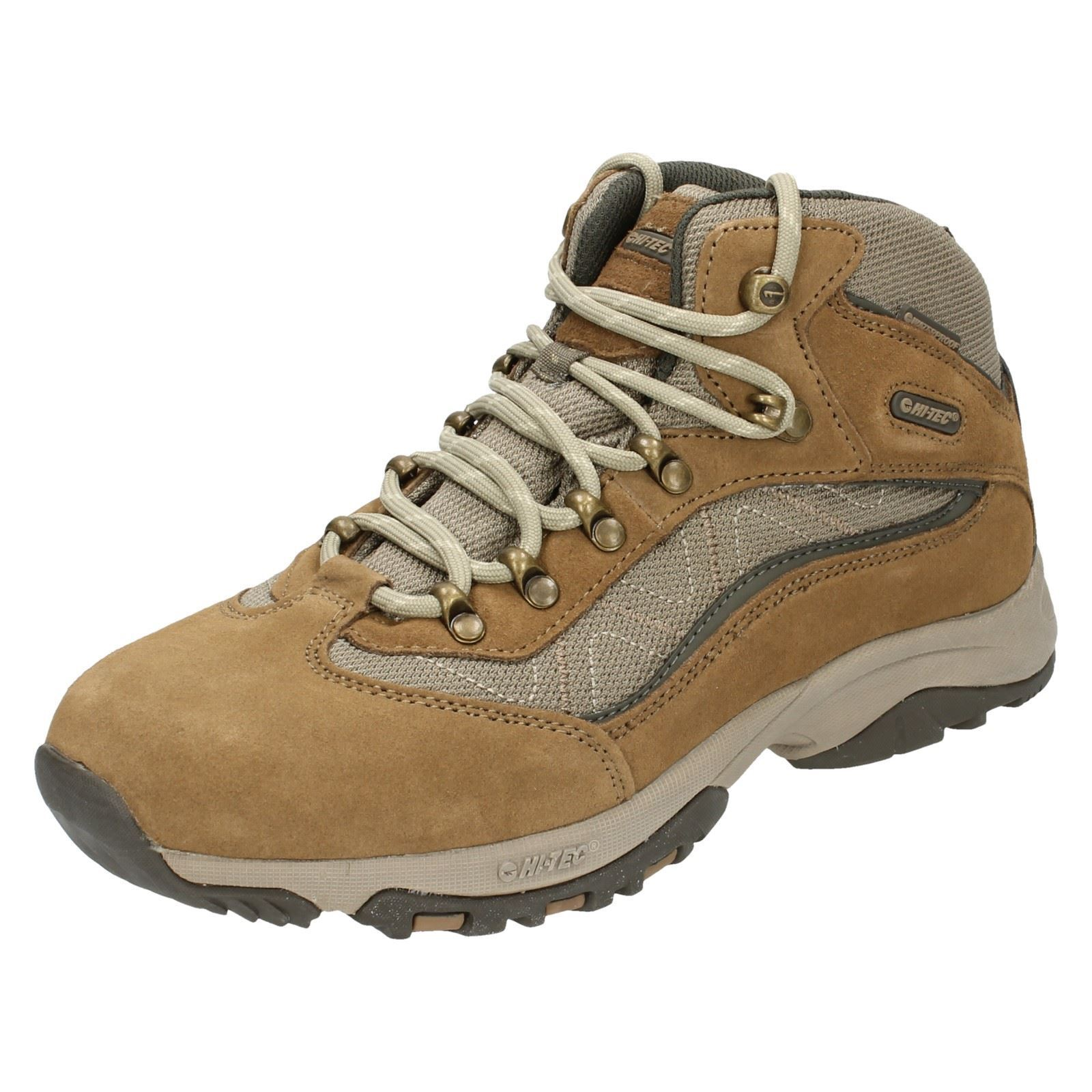 Hi-Tec Ladies Casual Lace Up Boots - Cliff Trail WP