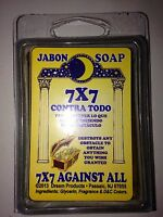 Spiritual Bar Soap 100% Glycerin (jabon) For 7 X 7 Against All (7x7 Contra Todo)