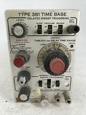 Vintage Tektronix Type 3b1 Time Base Plug In Parts Or Repair