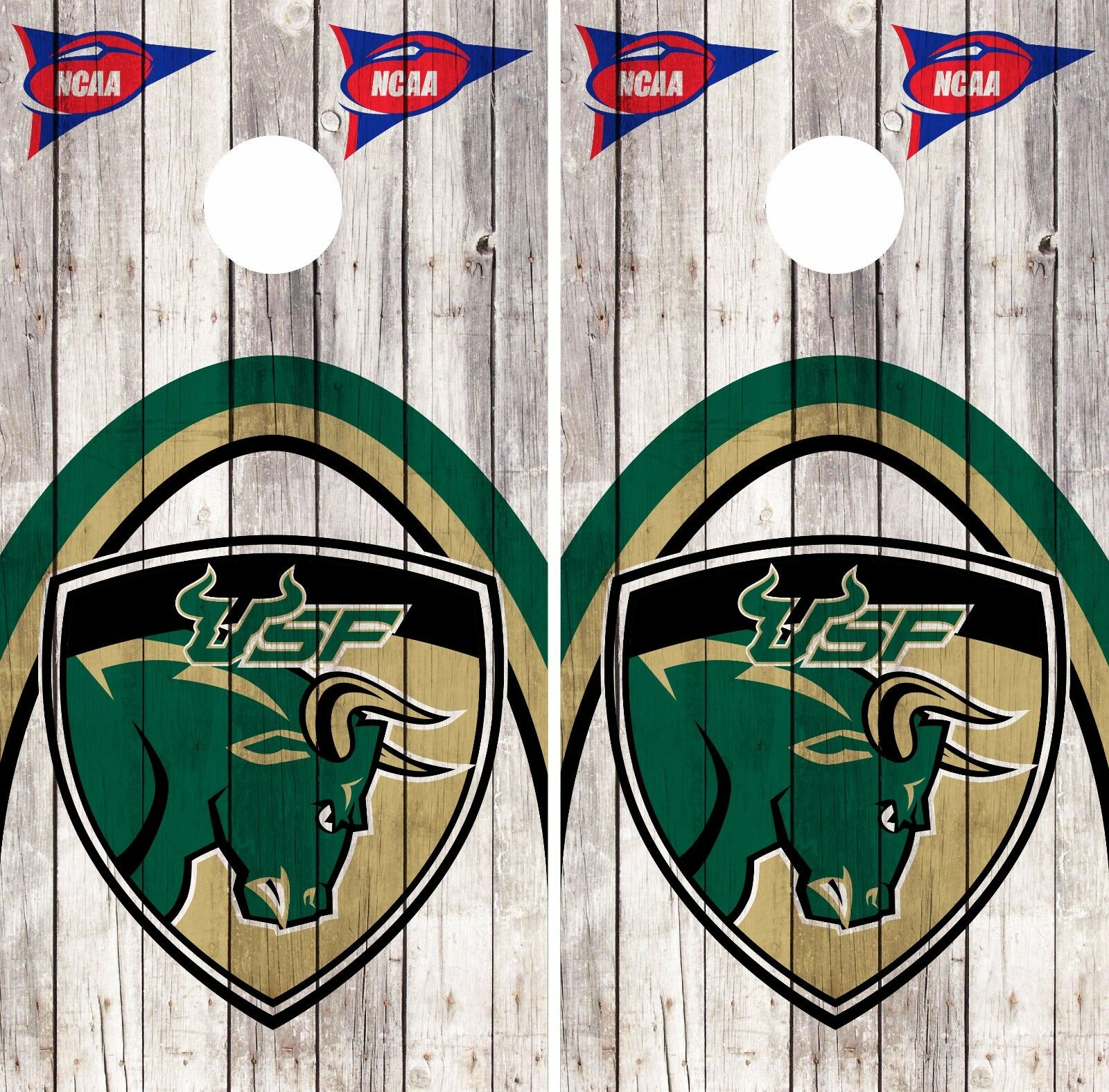 South Florida Bulls Cornhole Skin Wrap NCAA College Flag  Wood Design Vinyl DR375  reasonable price