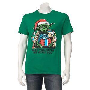 image is loading star wars christmas tee yoda the gift t