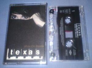 TEXAS-WHITE-ON-BLONDE-cassette-tape-album-T6472