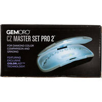 Gemoro Gia Master Set Pro 2 1.00 Ct 10-stone Diamond Color Grading