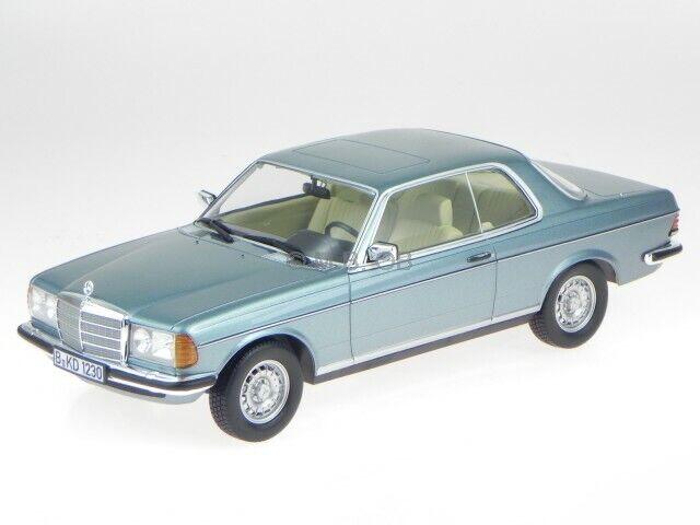 Mercedes C123 280 CE 1980 silberblau met. Modellauto 183588 Norev 1 18    Neueste Technologie
