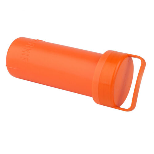 Inflatable Boat Kayak PVC Repair Kit Wrench Container Bucket Orange New