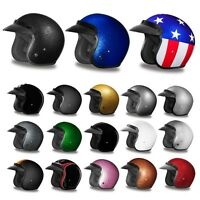 Ships Within 24 Hours Daytona 3/4 Shell Cruiser Motorcycle Helmet