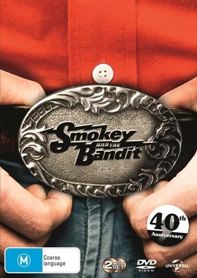 SMOKEY And The BANDIT 1 - 40th Anniversary Edition : NEW DVD