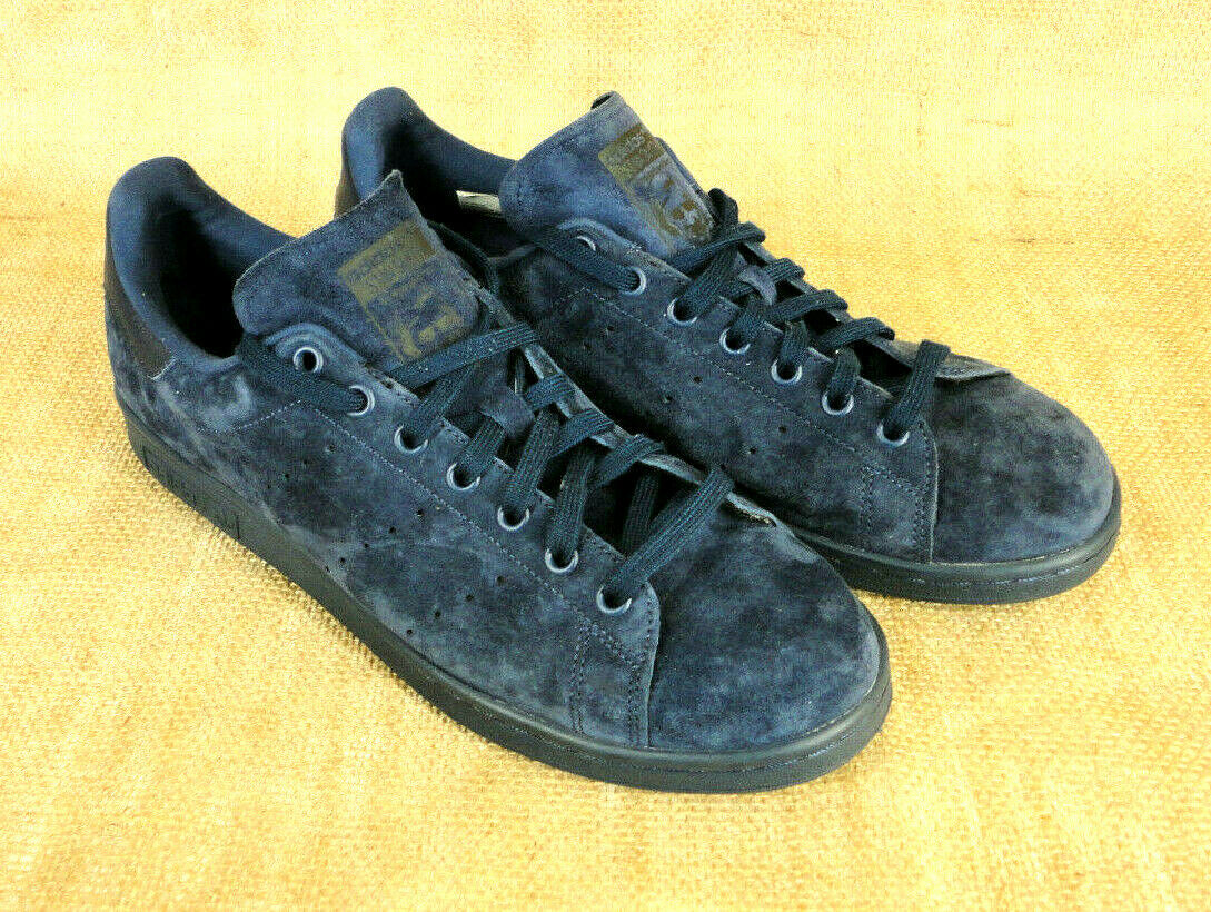 Suede Art Mens Tennis 10 S75107 Size Adidas Stan Blue Shoes Smith 8nOwkX0P