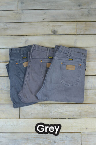 W30 Denim Dark Leg Wrangler Brown Grade cream W38 mid grey W32 Straight A W36 W green Brown Jeans Vintage Coloured W34 p1fwqX8w
