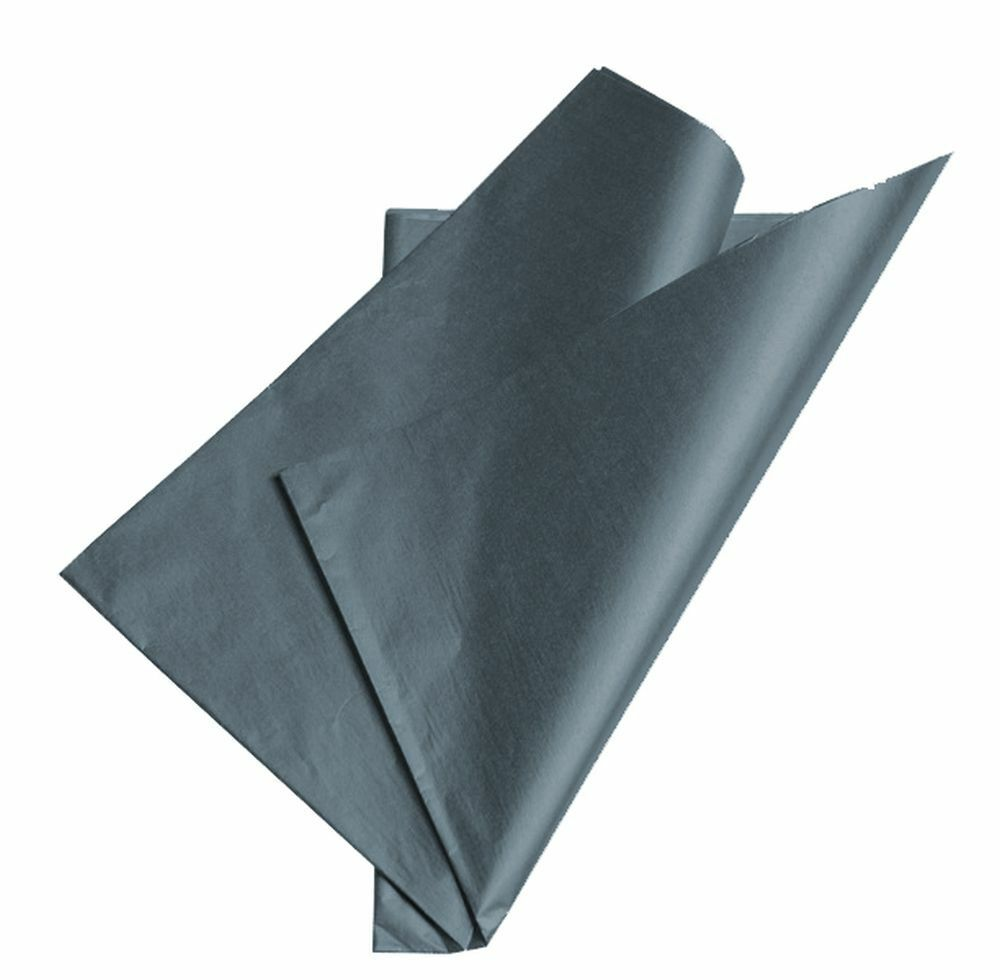 Metallic Double Sided Pewter Tissue Wrapping Paper
