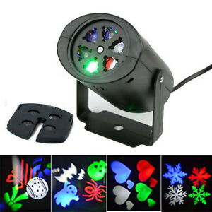16 mod le led projecteur laser lampe lumi re paysage ext rieur de no l f te d co ebay for Projecteur led decoration noel exterieur