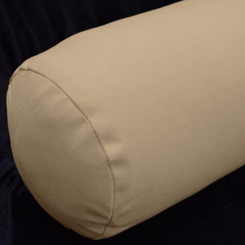 la10g Sand Shell High Quality Cotton Canvas Fabric Bolster Yoga Cushion Cover