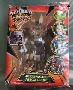 Power Rangers Jungle Fury Deluxe Jungle Master Megazord w/ Box * Collectibles *