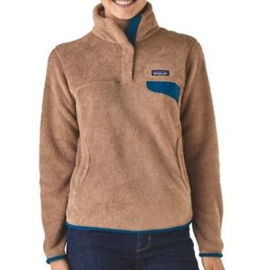 NEW! (XS) Patagonia Women s Re-Tool Snap-T Pullover - Light Sesame ... ee1eac5ab1