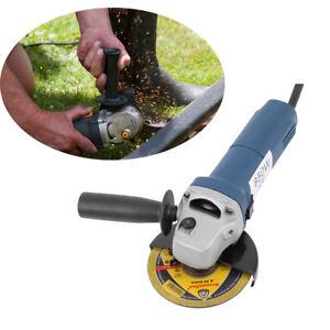 Radial-Amoladora-Angular-Disco-125mm-Electrica-850W-M14-de-Acero-Ladrillo-Piedra