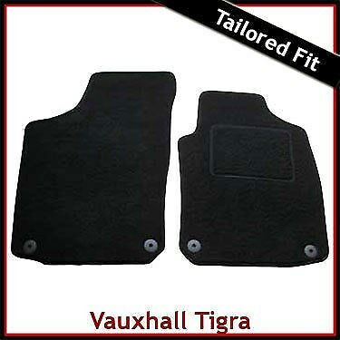 Vauxhall Tigra 2004-on Fully Tailored Car Floor Mat Set in Black