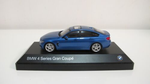 1:43 KYOSHO I-SCALE BMW 435i GRAND COUPE M PACKAGE F36 BLACK DIECAST CARS