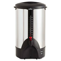 Coffee Pro 50-cup Percolating Urn Stainless Steel Cp50