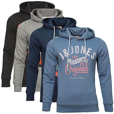 JACK & JONES Herren Hoodie Sweatshirt ORG Kapuzenpullover NEU!