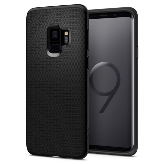 timeless design acd73 db5f7 For Galaxy S9 / S9 Plus | Spigen® [Liquid Air] Slim Protective Case Cover