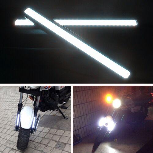 2 Pcs Super White Bright Waterproof COB LED Lights for DRL Fog Lamp For Kawasaki