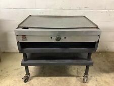 36 Griddle On Stand Wolf Nat Gas Tested