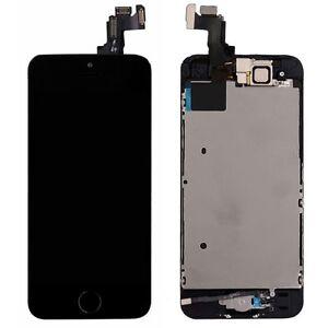 Tout-en-un-Ecran-LCD-Complet-Echange-Touch-Compatible-Apple-Iphone-5S-Noir