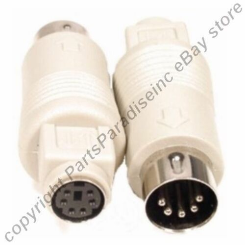 Keyboard Adapter PS2 6pin Female to AT 5pin DIN Male Adaptor Cable//Cord//Wire {NC