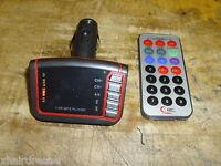 Car MP3 Player Wireless FM Transmitter USB SD card slot