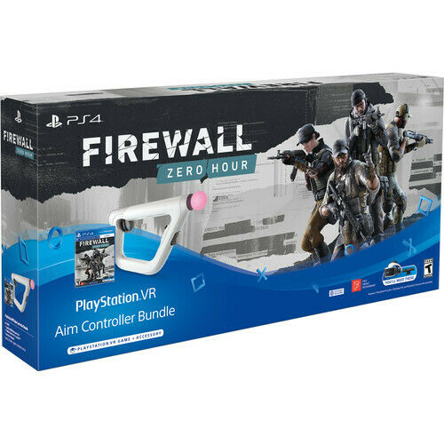 Firewall Zero Hour Game With Aim Controller Bundle Sony PS4 VR Virtual Reality