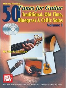 50 Tunes For Guitar Volume 1 Learn To Play Guitar Tab Sheet Music Book & Cd-afficher Le Titre D'origine Xx8ytakn-07174204-335433777