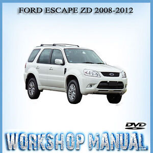 ford escape zd 2008 2012 factory workshop service repair manual in rh ebay com au 2013 ford escape service manual pdf 2015 ford escape service manual